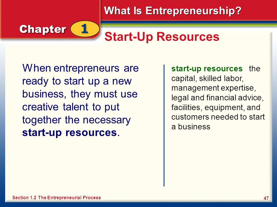 Start-Up Resources