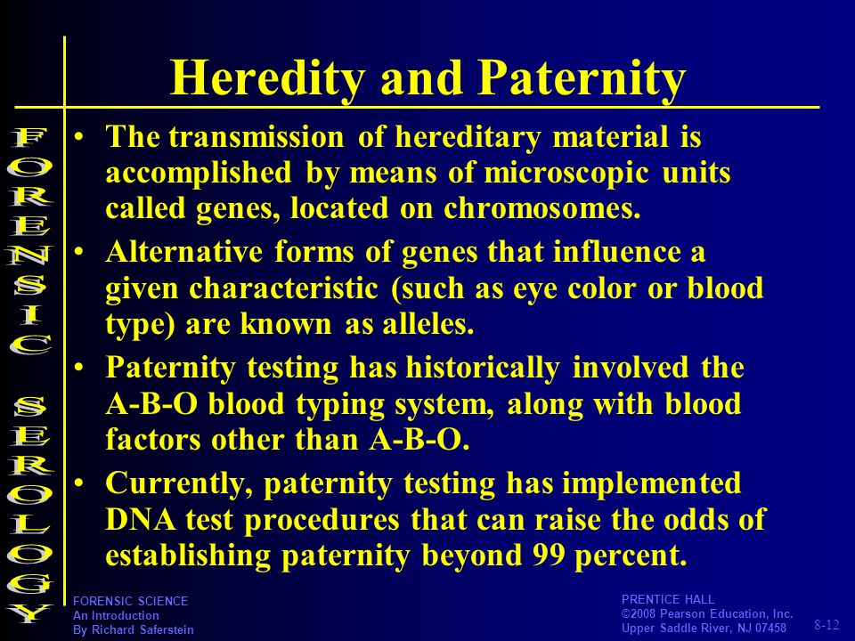 Heredity and Paternity