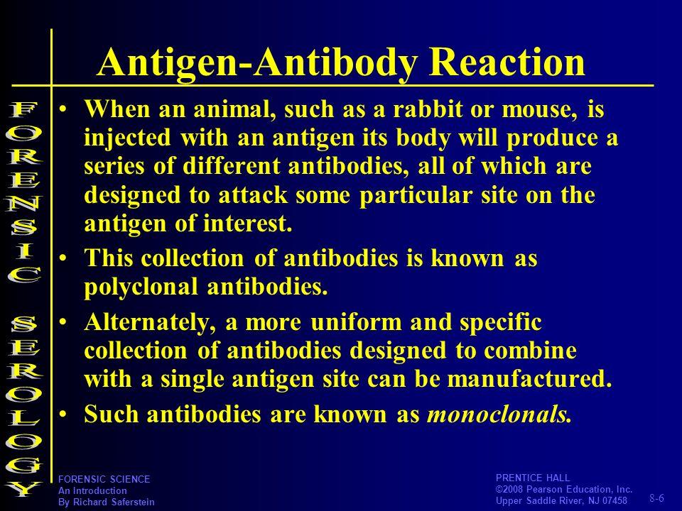 Antigen-Antibody Reaction