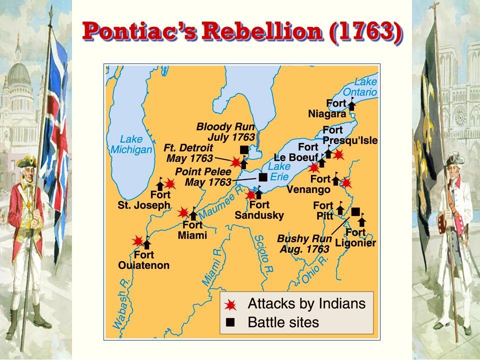 Pontiac's Rebellion (1763)
