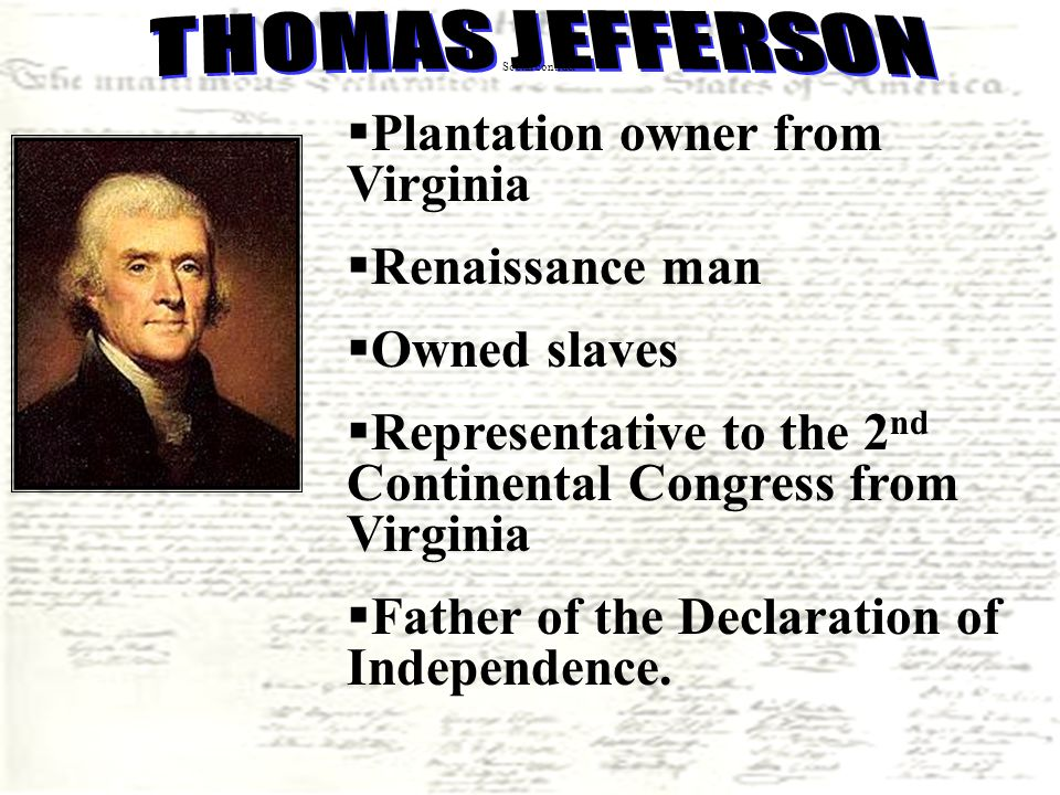 thomas jeffersons own personal feelings in the declaration of independence The papers of thomas jefferson but they also include his drafts of the declaration of independence  a catalog of the personal library that jefferson.