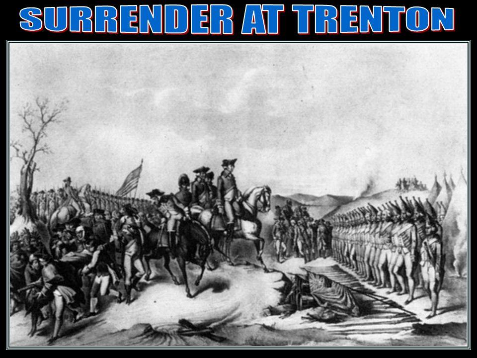SURRENDER AT TRENTON Surrender/trenton