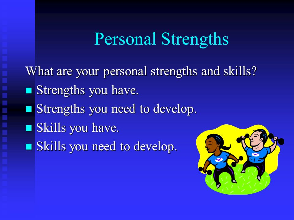 individual skills and strengths Individual development plan for postdoctoral fellows  identify specific skills and strengths that you need to develop (based on discussions with.