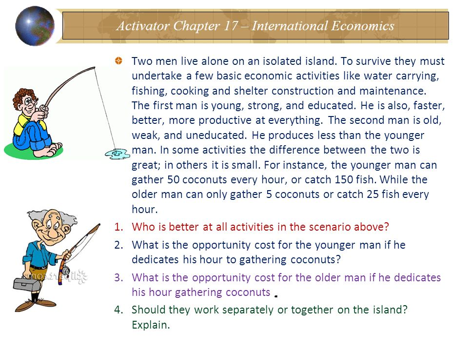 Activator Chapter 17 – International Economics