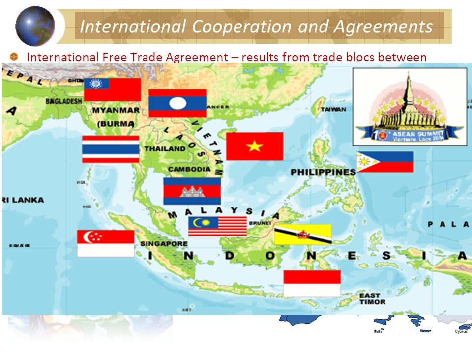 International Cooperation and Agreements