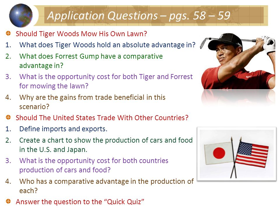Application Questions – pgs. 58 – 59