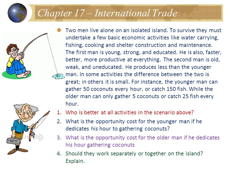 Chapter 17 – International Trade