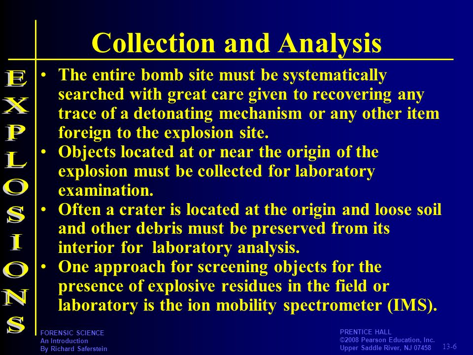 Collection and Analysis