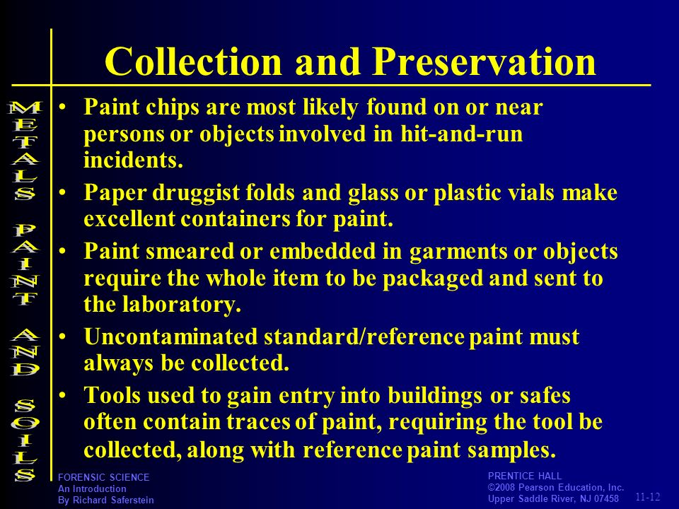 Collection and Preservation