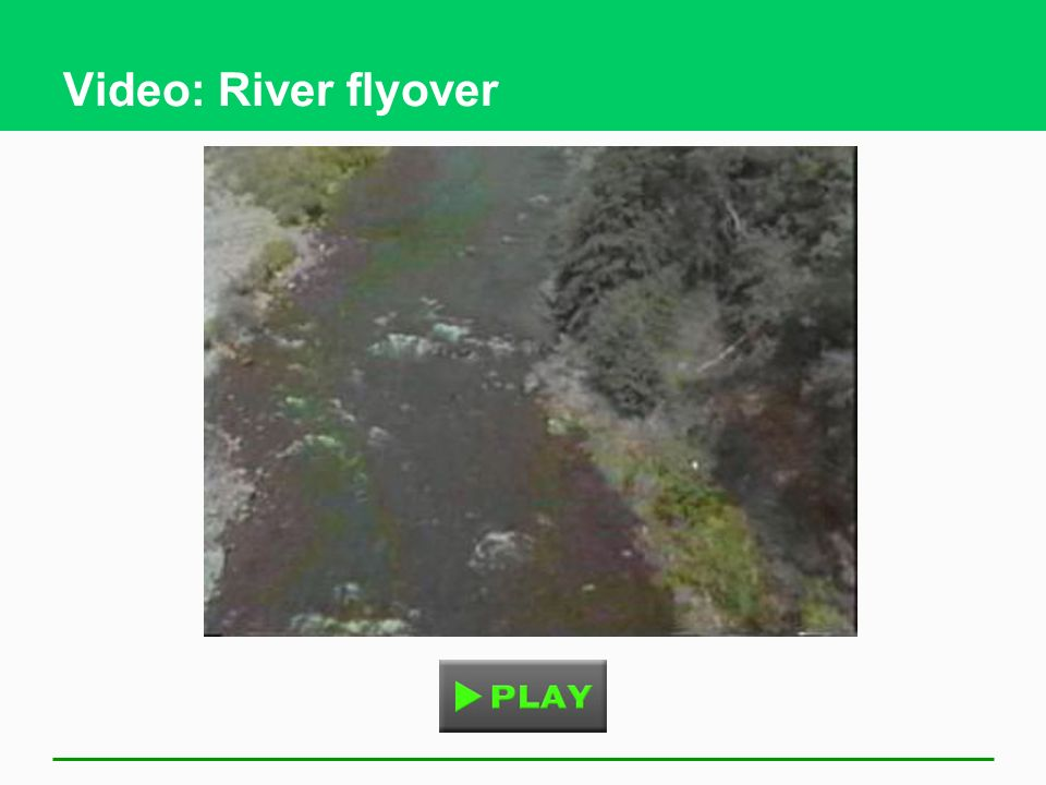 Video: River flyover