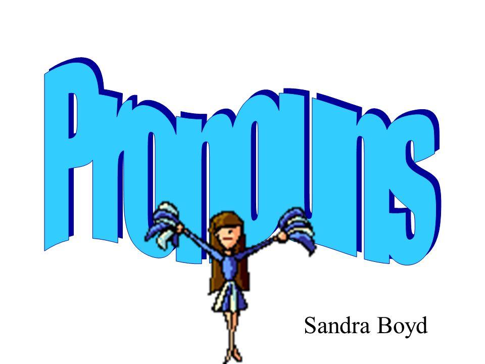 Pronouns Sandra Boyd