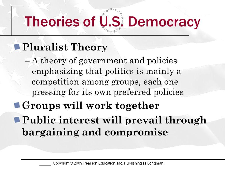 Theories of U.S. Democracy