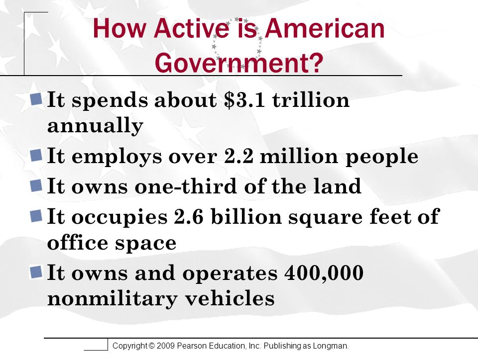 How Active is American Government