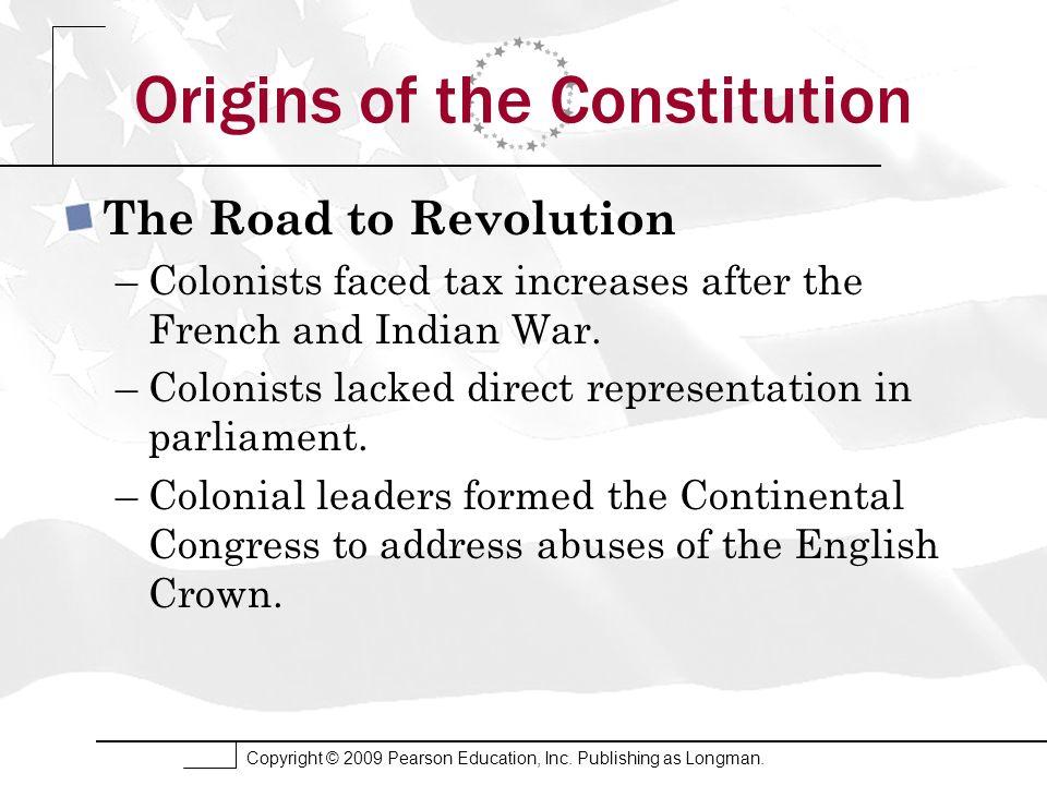 Origins of the Constitution