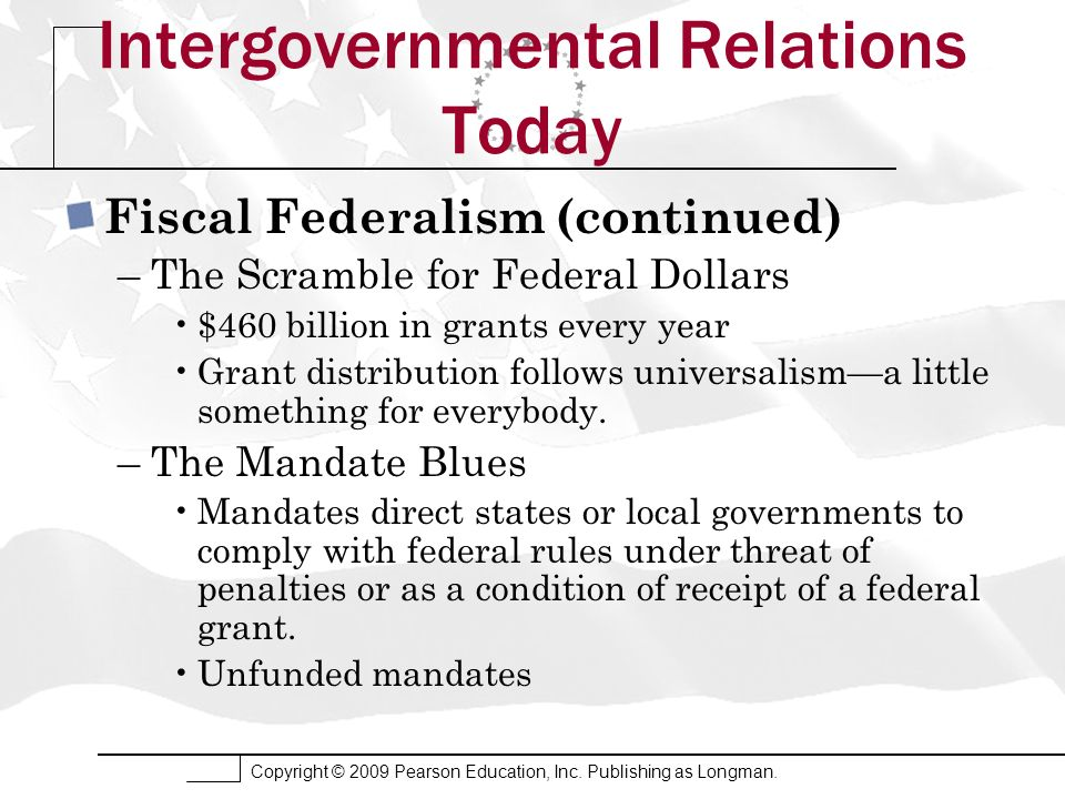 Intergovernmental Relations Today