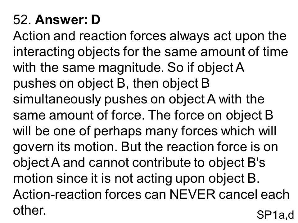 52. Answer: D