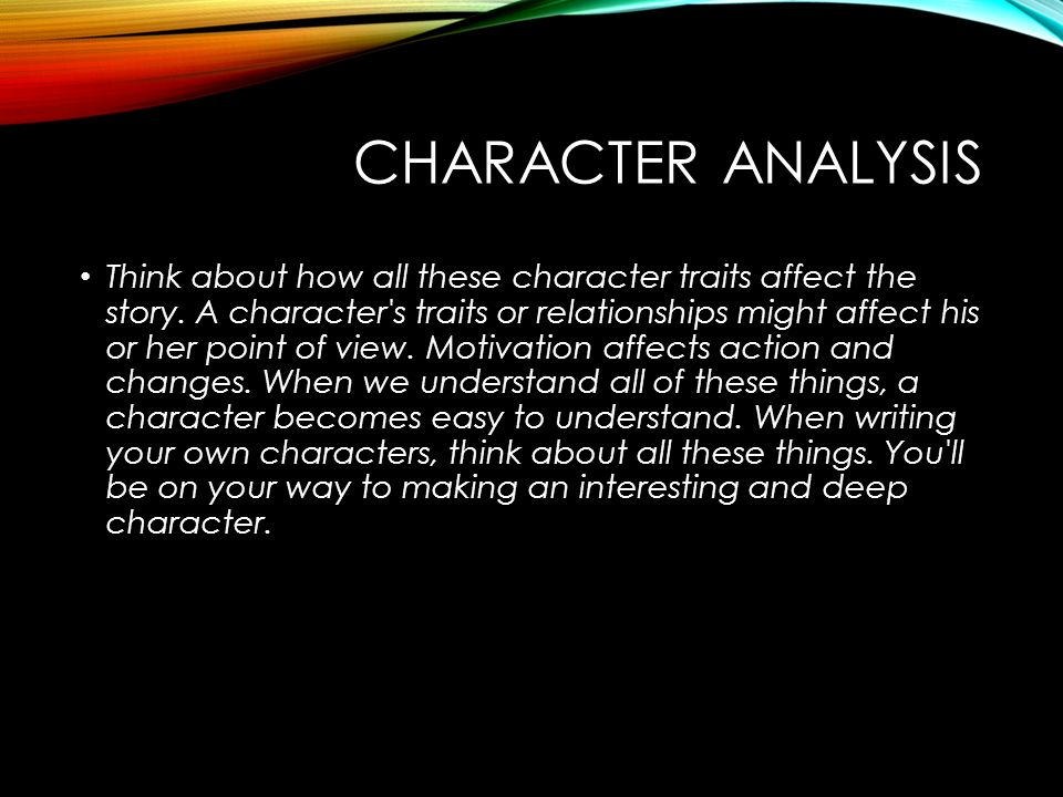 an analysis of the character relationships in the novel promise Analyzes characters from the novel the  transcript of the chrysalids: character analysis (relations to david storm)  i want you to promise that you will never .