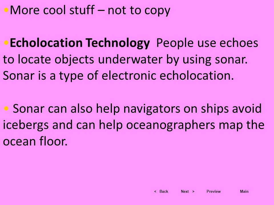 More cool stuff – not to copy
