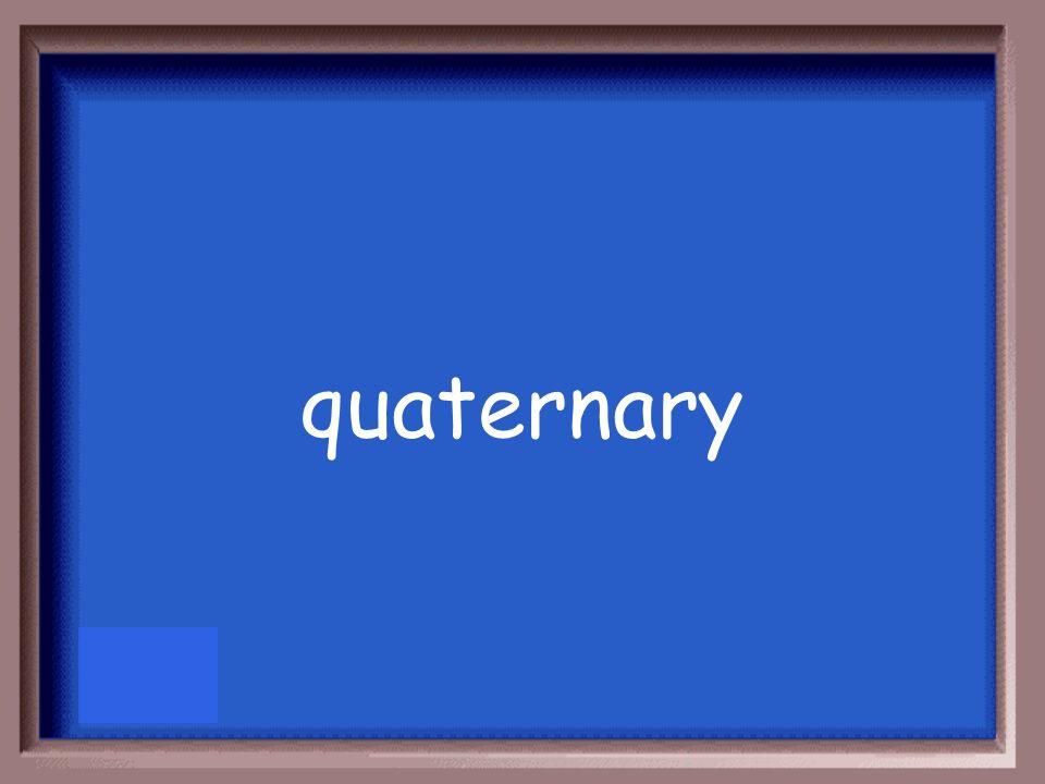 quaternary