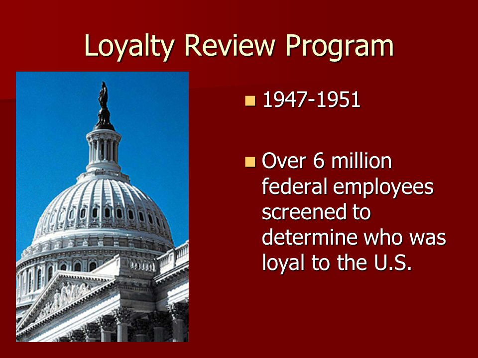 Loyalty Review Program
