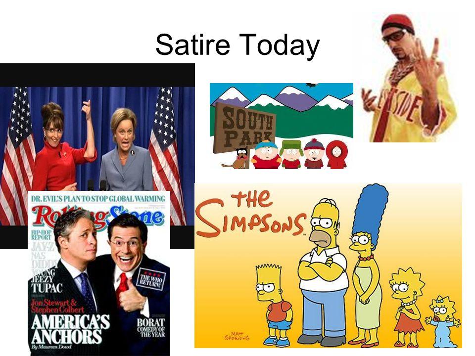 Satire Today
