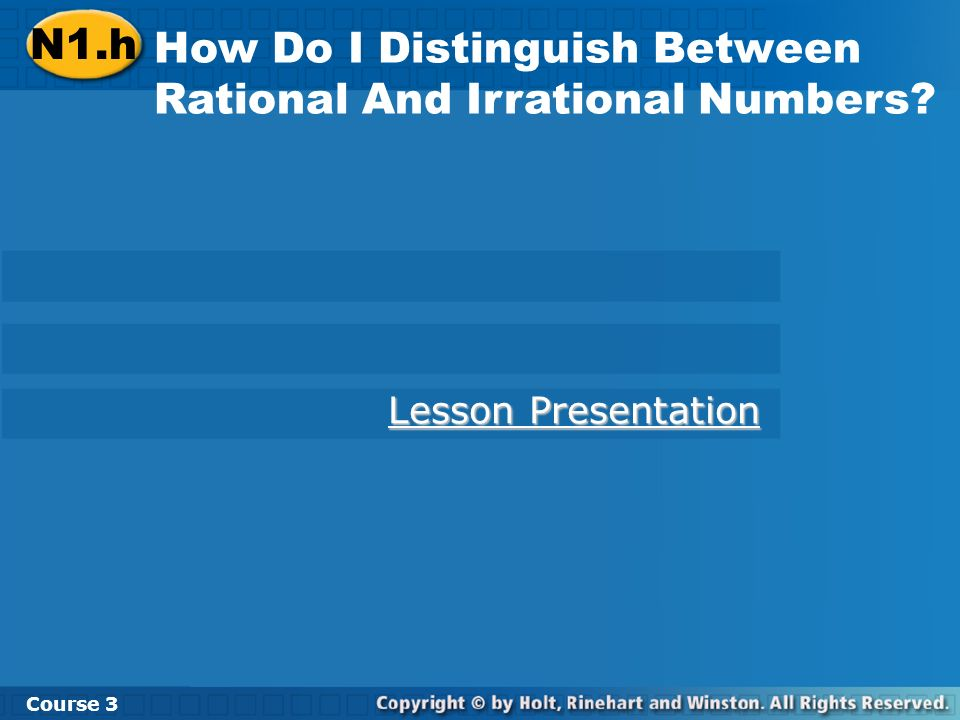 How Do I Distinguish Between Rational And Irrational Numbers