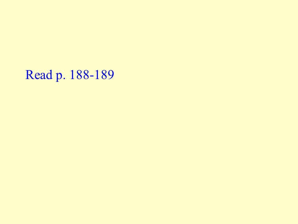 Read p. 188-189
