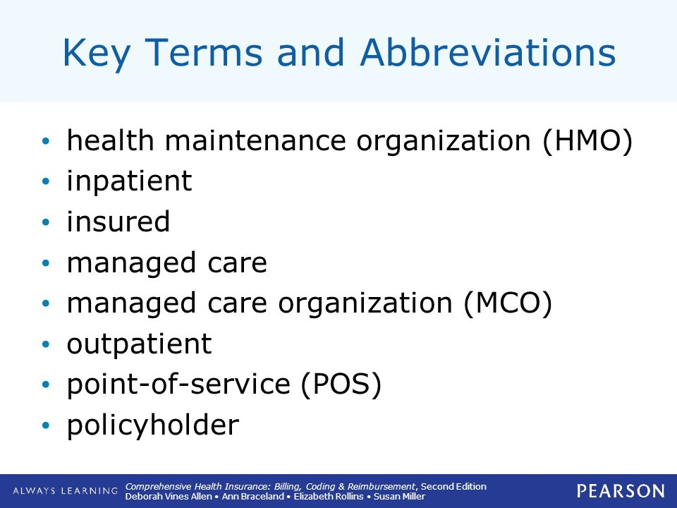2 Understanding Managed Care Insurance Plans Ppt Video