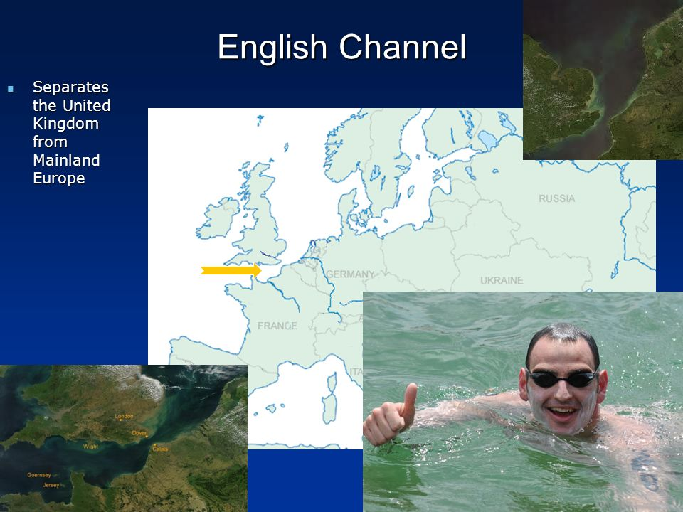 English Channel Separates the United Kingdom from Mainland Europe
