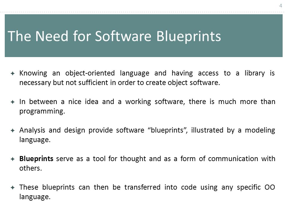 Chapter 6 structured vs object oriented analysis and design the need for software blueprints malvernweather Choice Image