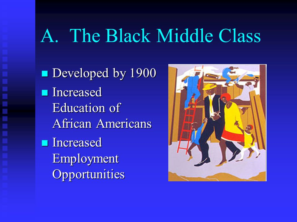 A. The Black Middle Class