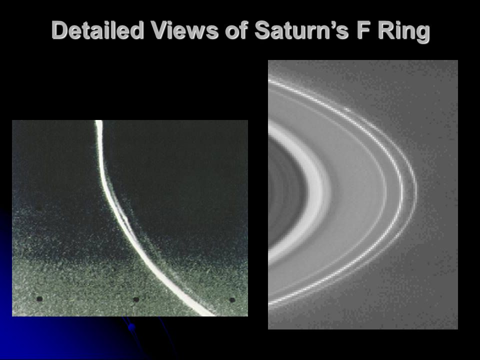 Detailed Views of Saturn's F Ring