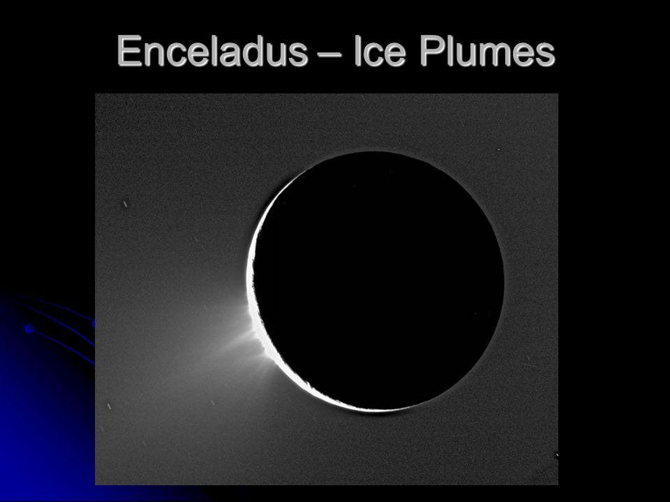 Enceladus – Ice Plumes