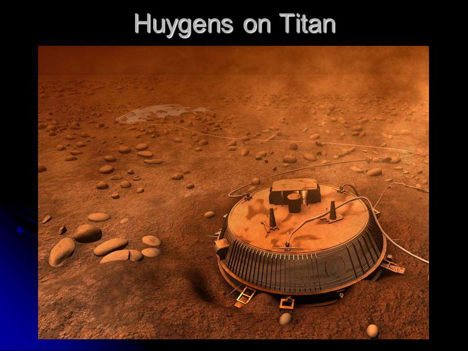 Huygens on Titan