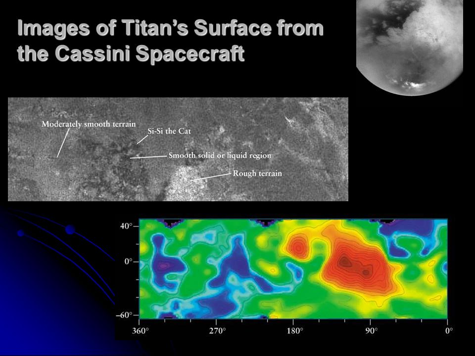 Images of Titan's Surface from the Cassini Spacecraft