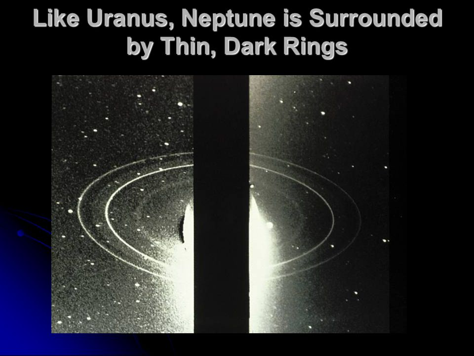 Like Uranus, Neptune is Surrounded