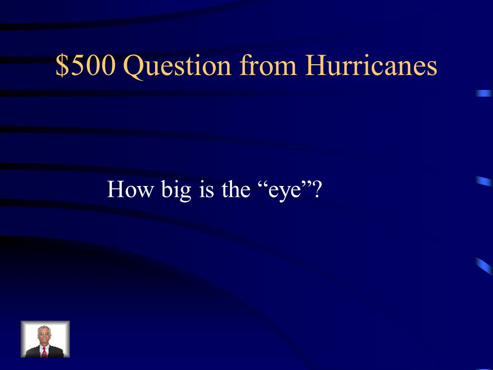 $500 Question from Hurricanes