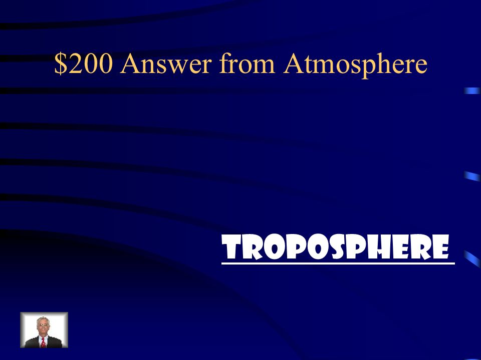 $200 Answer from Atmosphere