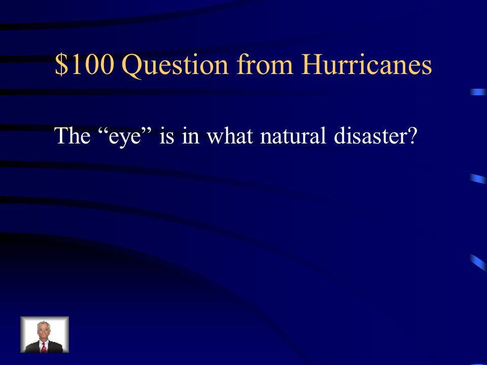 $100 Question from Hurricanes