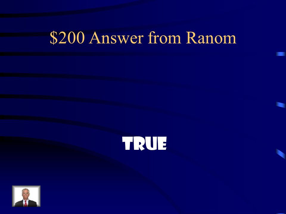 $200 Answer from Ranom True