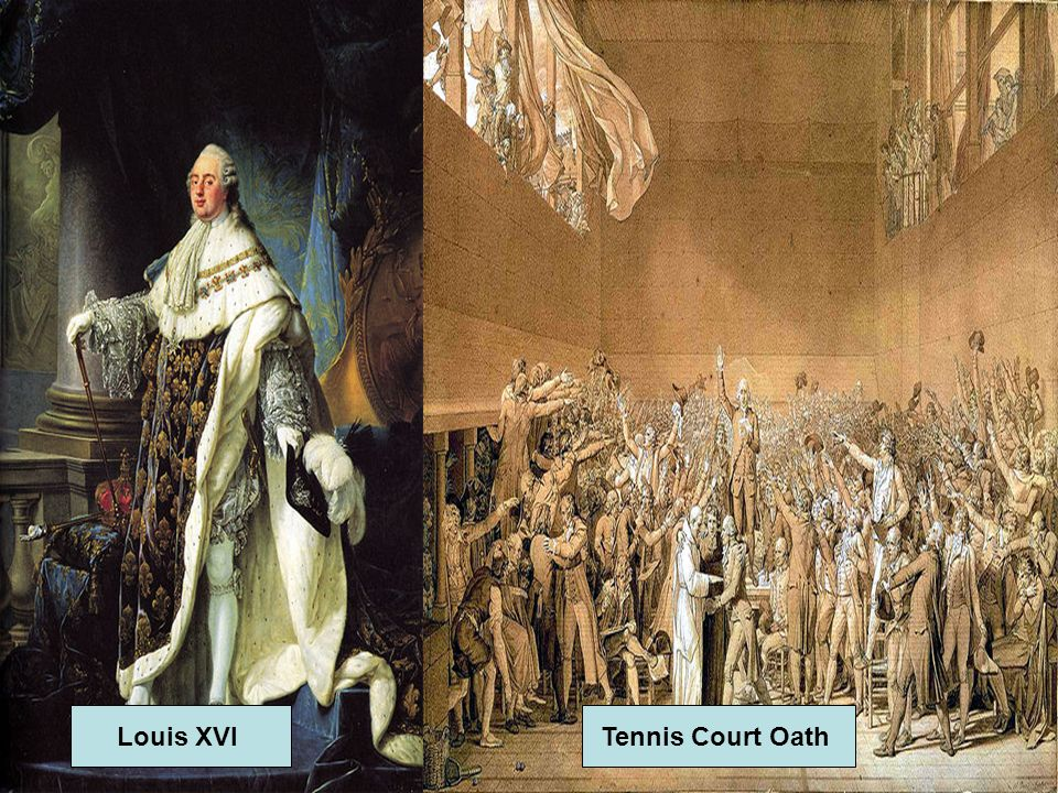 Louis XVI Tennis Court Oath