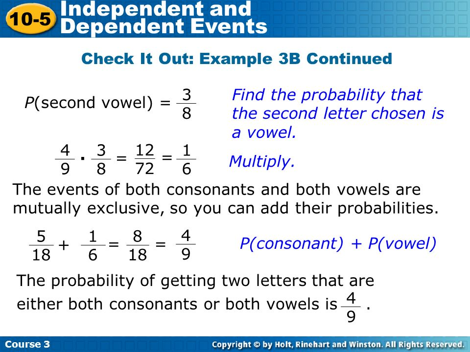 Check It Out: Example 3B Continued