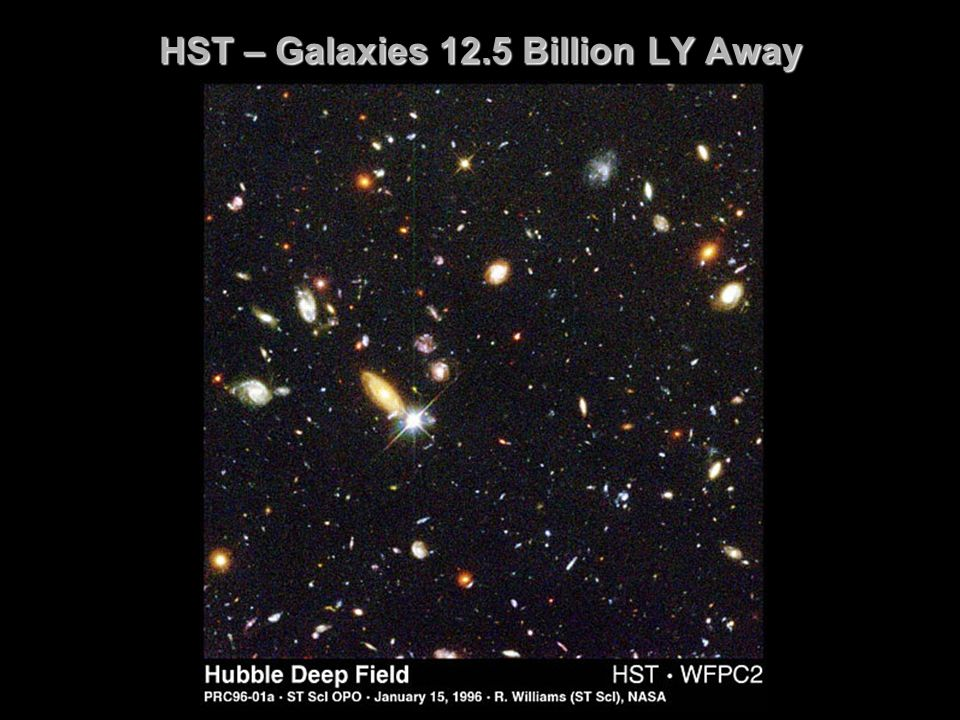 HST – Galaxies 12.5 Billion LY Away