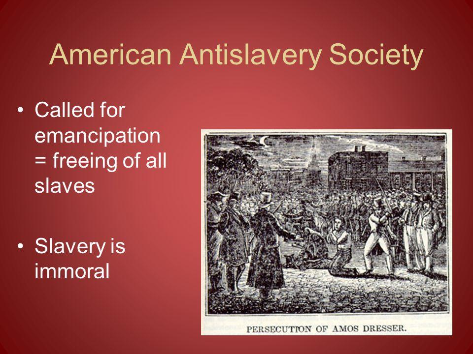 American Antislavery Society