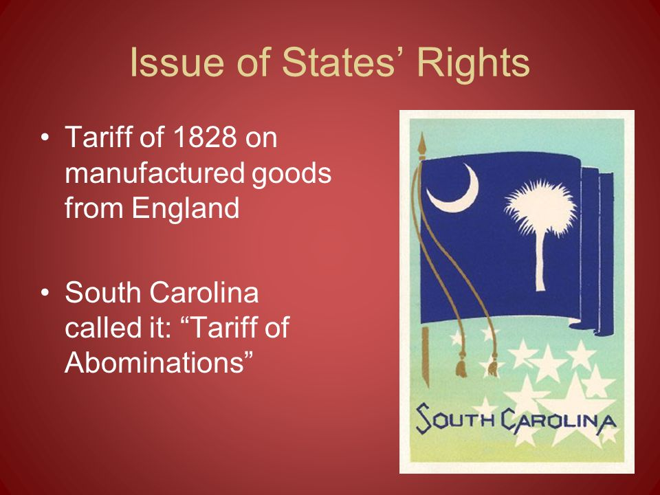 Issue of States' Rights