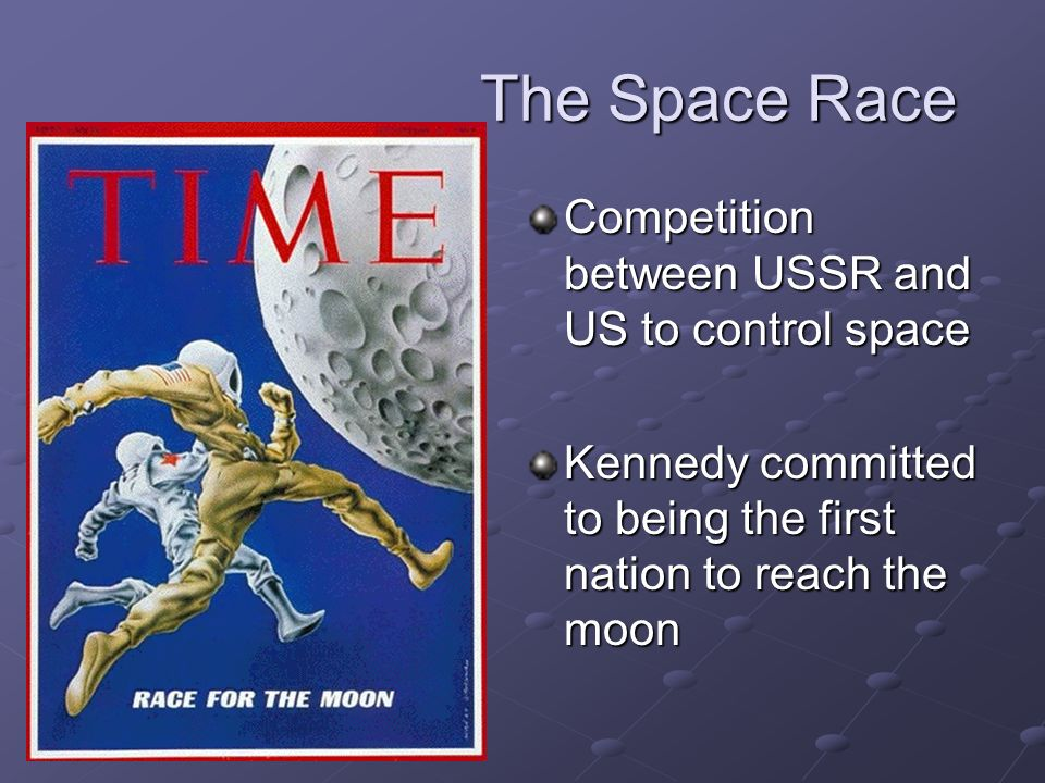 The Space Race Competition between USSR and US to control space