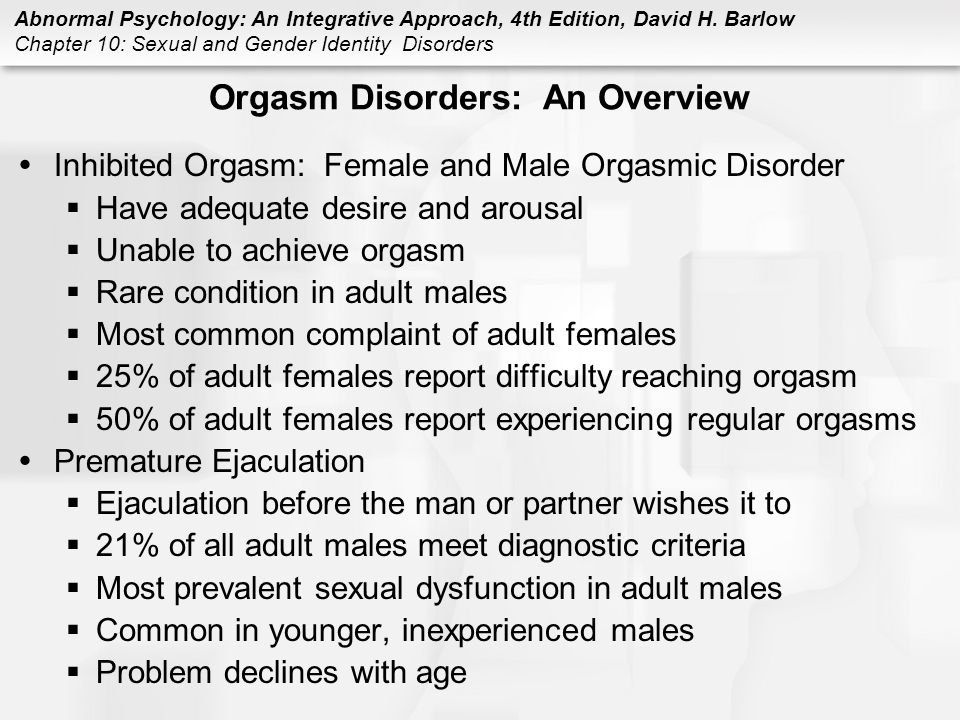 an overview of gender identity disorder Epidemiology research international is a peer-reviewed,  dissociative identity disorder  gender differences in prevalences.