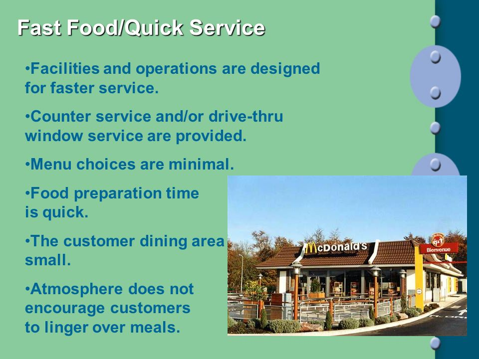 Fast Food/Quick Service