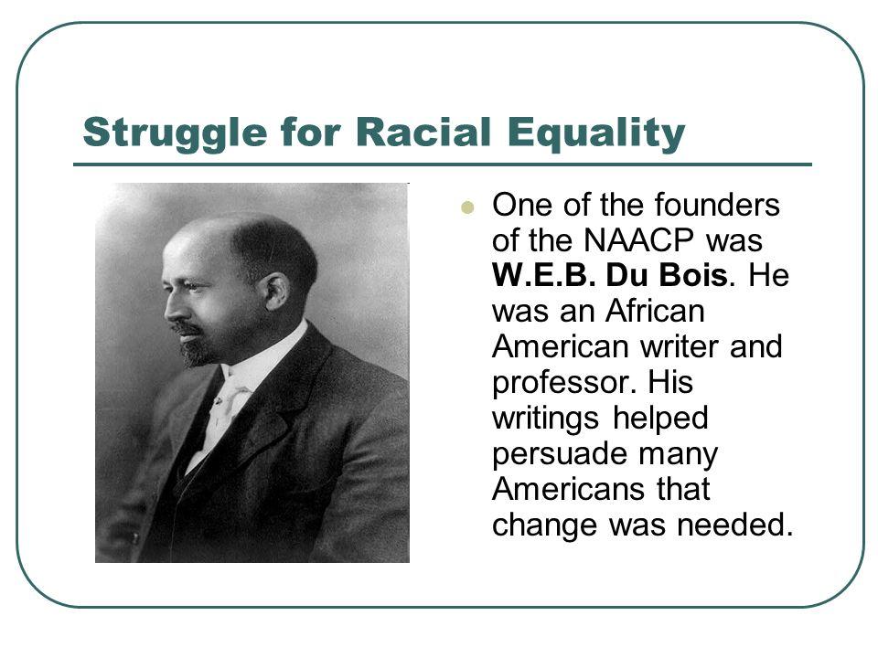Struggle for Racial Equality