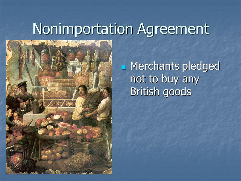 Nonimportation Agreement